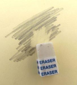 Bild von Radiertem Bleistift