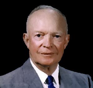 Bild vom Präsidenten Dwight D. Eisenhower