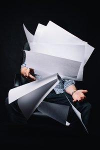 Bild von Schludrigkeit bei E-Mail an den Dozenten