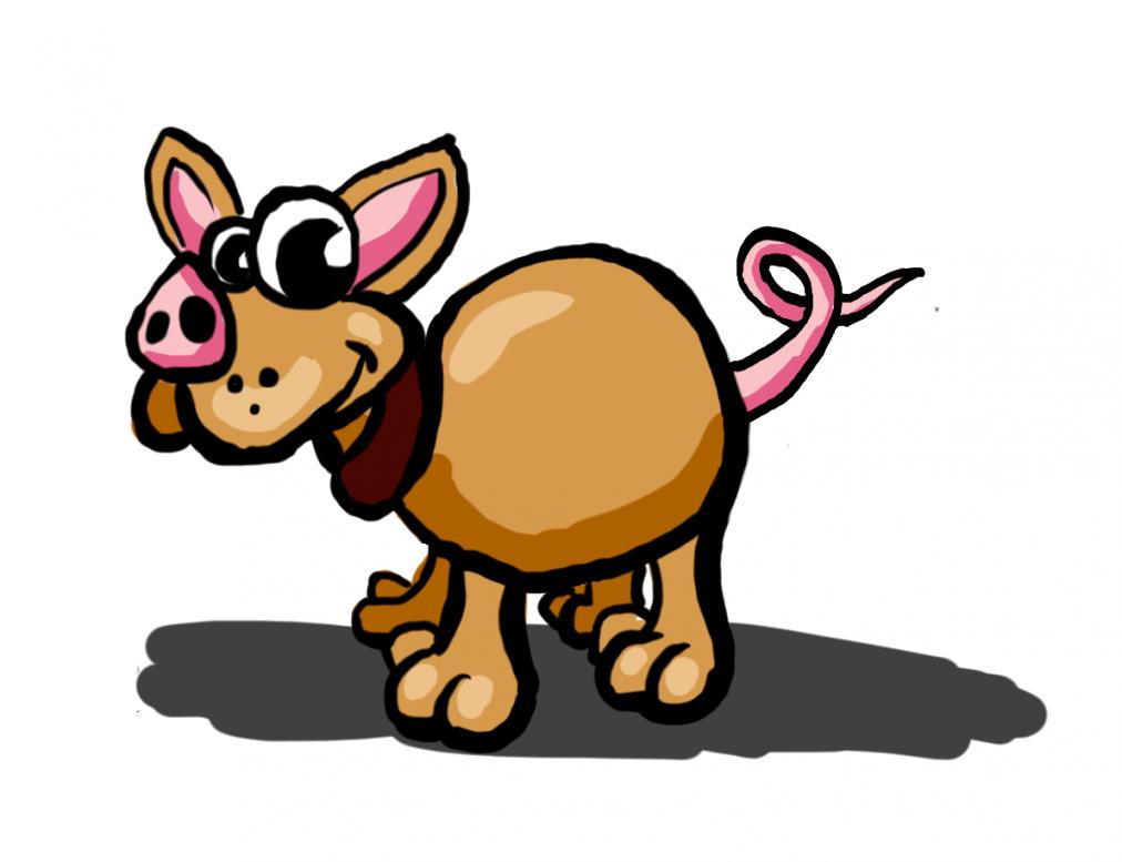 Bild des inneren Schweinehundes