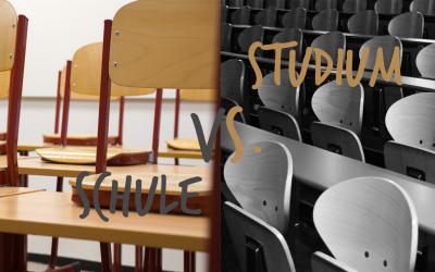 Was unterscheidet Schule und Studium?