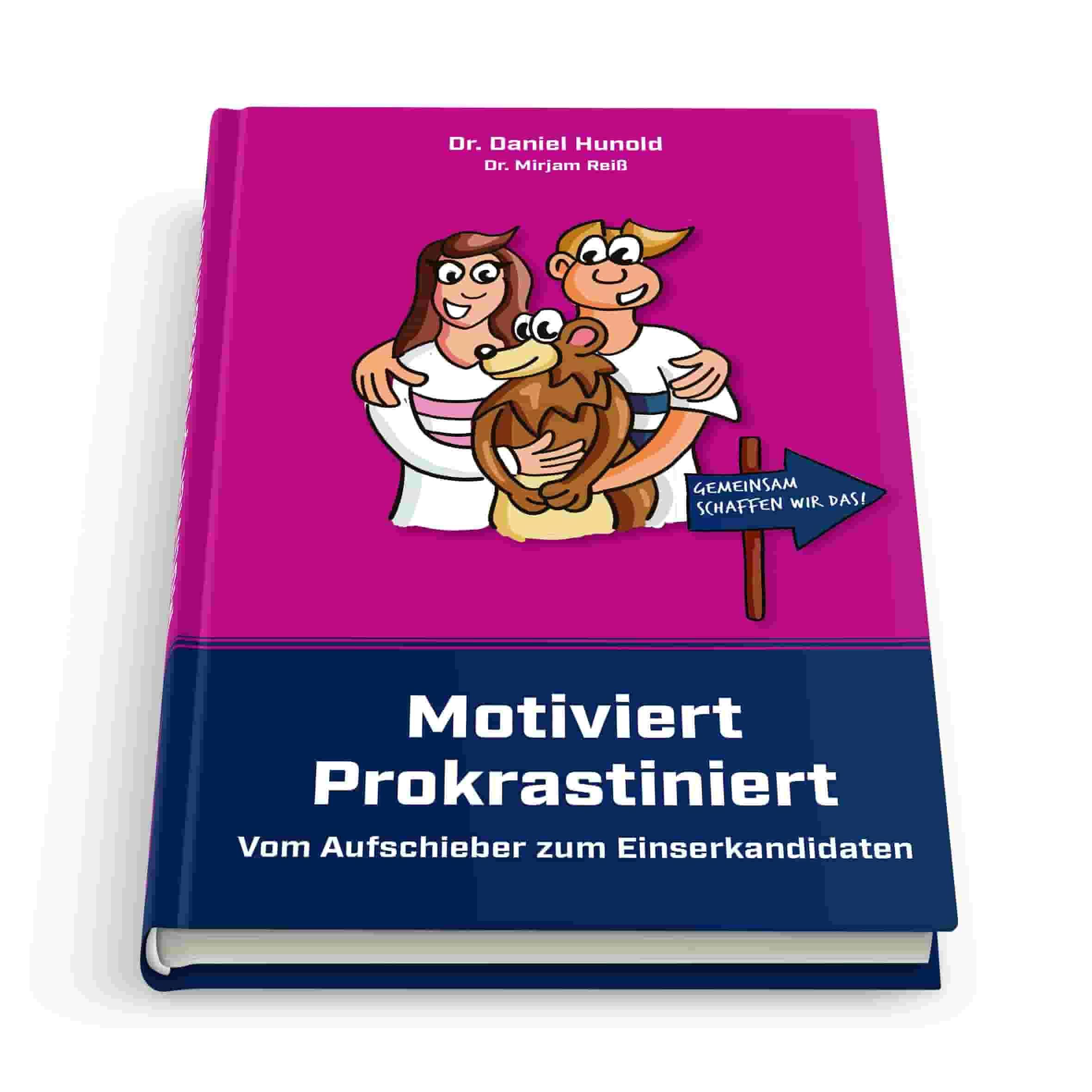 Das Bild das Buch Motiviert Prokrastiniert - vom Aufschieber zum Einserkandidaten
